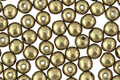 Czech Glass ColorTrends: Saturated Metallic Golden Lime Round 4mm
