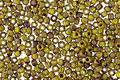 TOHO Frosted Opaque Dandelion Picasso Hybrid Round 11/0 Seed Bead