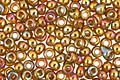 TOHO Gold Lustered Dark Topaz Round 11/0 Seed Bead