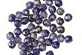 Czech Glass Lustered Twilight Fire Polished Round 3mm