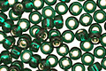 TOHO Green Emerald (with Silver Lining) Round 8/0 Seed Bead