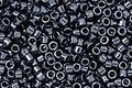 TOHO Aiko Metallic Hematite Precision Cylinder 11/0 Seed Bead