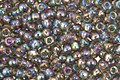 TOHO Transparent Rainbow Gray Round 11/0 Seed Bead