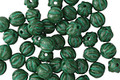 Czech Glass Kelly Green Melon Round 4mm