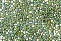 TOHO Semi-Glazed Rainbow Clover Round 11/0 Seed Bead