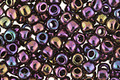 TOHO Metallic Iris Purple Round 6/0 Seed Bead