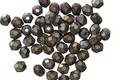 Czech Fire Polished Glass Matte Iris Brown Round 3mm
