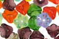 Czech Glass Multi Color Mix Bellflower 7x8mm
