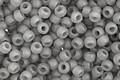 TOHO Ceylon Frosted Smoke Round 11/0 Seed Bead
