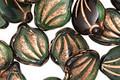 Czech Glass Bronzed Emerald Isle Curved Leaf 12x14mm