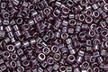 TOHO Aiko Transparent Lustered Medium Amethyst Precision Cylinder 11/0 Seed Bead