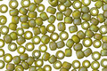 TOHO Semi-Glazed Rainbow Lemongrass Round 8/0 Seed Bead