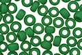 TOHO Opaque Frosted Shamrock Round 8/0 Seed Bead