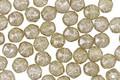 Czech Glass Sage w/ Mercury Luster English Cut Bead 4mm