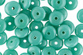 Czech Glass Turquoise Spacer 2x6mm