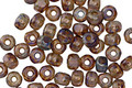 Czech Glass Opal Light Lavender Trica Beads 2.5x4mm