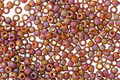 TOHO Semi-Glazed Rainbow Burnt Orange Round 11/0 Seed Bead