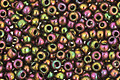 TOHO Higher Metallic Purple/Green Iris Round 11/0 Seed Bead