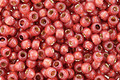 TOHO Permanent Milky Pomegranate (with Silver Lining) Round 8/0 Seed Bead