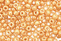 TOHO Opaque Lustered Dark Beige Round 11/0 Seed Bead