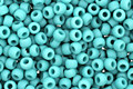 TOHO Opaque Frosted Turquoise Round 11/0 Seed Bead