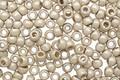 TOHO Permanent Galvanized (Matte) Aluminum Round 8/0 Seed Bead