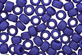TOHO Opaque Frosted Navy Blue Round 8/0 Seed Bead