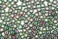 TOHO Gold Lustered Emerald Round 11/0 Seed Bead
