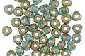 Czech Glass Beach Glass Picasso Trica Beads 3x4mm