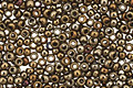 TOHO Metallic Iris Brown Round 15/0 Seed Bead