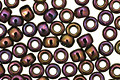 TOHO Metallic Iris Purple Round 8/0 Seed Bead