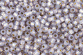 TOHO Permanent Milky Alexandrite (with Silver Lining) Round 11/0 Seed Bead