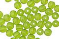 Czech Glass Green Mantis Round Druk 4mm