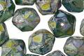 Czech Glass Pangea English Cut Bead 8x10mm