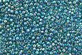 TOHO Transparent Rainbow Teal Round 15/0 Seed Bead