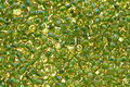 TOHO Topaz (with Opaque Green Lining) Round 11/0 Seed Bead