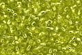 TOHO Lime Green (with Silver Lining) Round 15/0 Seed Bead