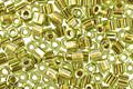 TOHO Peridot (with Gold Lining) Hex 11/0 Seed Bead