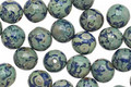 Czech Glass Earth Round Druk 6mm