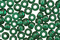 TOHO Transparent Green Emerald Round 8/0 Seed Bead