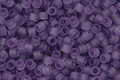 TOHO Aiko Transparent Frosted Sugar Plum Precision Cylinder 11/0 Seed Bead