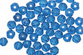 Czech Glass Capri Blue English Cut Round 3mm