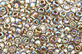 TOHO Rainbow Black Diamond (with Gold Lining) Round 11/0 Seed Bead