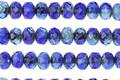 Czech Glass Mediterranean Fire Polished Rondelle 3x5mm