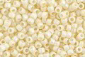 TOHO Opaque Pastel Frosted Egg Shell Round 15/0 Seed Bead