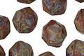 Czech Glass Berry Bush English Cut Bead 8x10mm