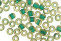 TOHO Jonquil (with Frosted Emerald Lining) Round 6/0 Seed Bead