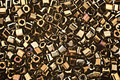 TOHO Metallic Iris Brown Cube 1.5mm Seed Bead