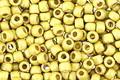 TOHO Permanent Galvanized (Matte) Yellow Gold Round 11/0 Seed Bead