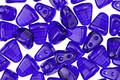 Czech Glass Cobalt 2-Hole Nib-Bit 5x6mm